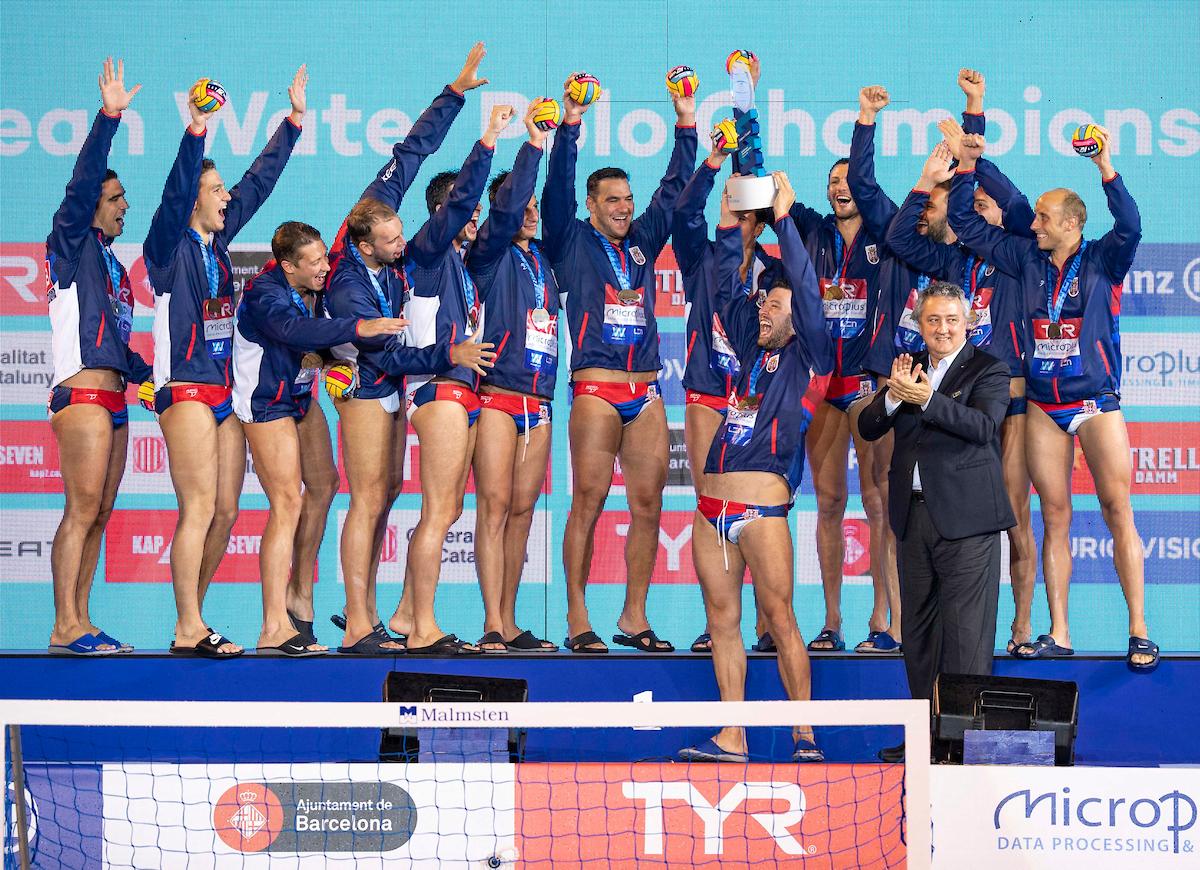 33rd LEN European Water Polo Championships - Barcelona 2018